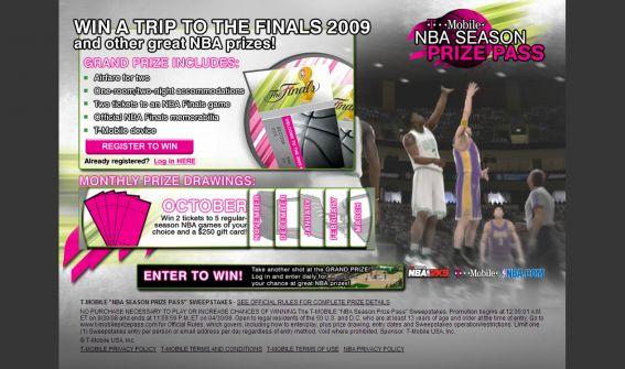T-Mobile Season Prize Pass Sweepstakes