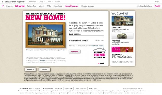The T-Mobile Ultimate Home Giveaway