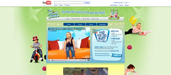 Juicy Juice Your Kids Did What? Video Contest