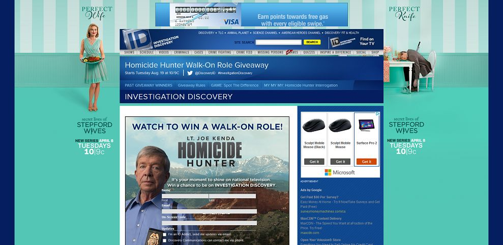 Investigation Discovery 5k Giveaway 28 Images