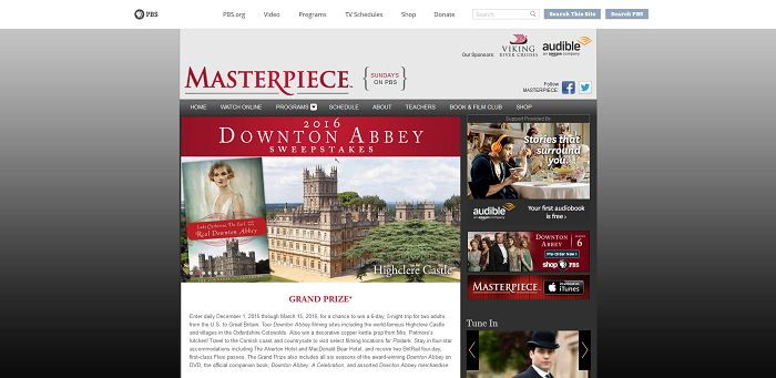 pbs sweepstakes pbs 2016 downton abbey sweepstakes sweepstakes lovers 8102
