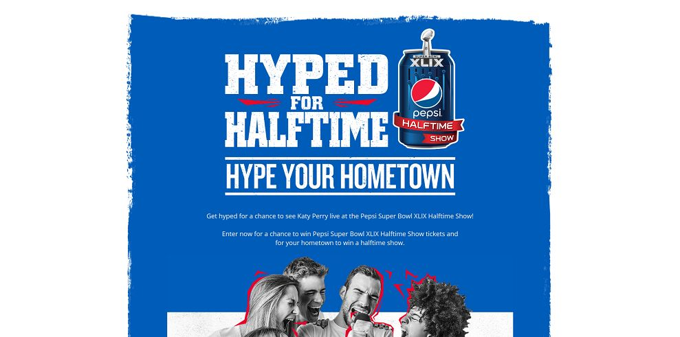 Pepsi Hype Your Hometown Contest - hypedforhalftime.com