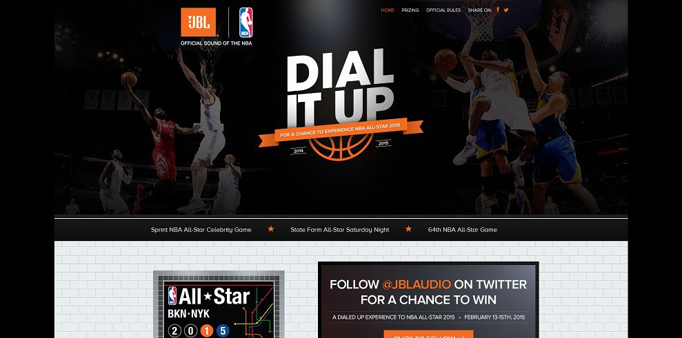 Dial It Up Sweepstakes (espn.com/JBL)