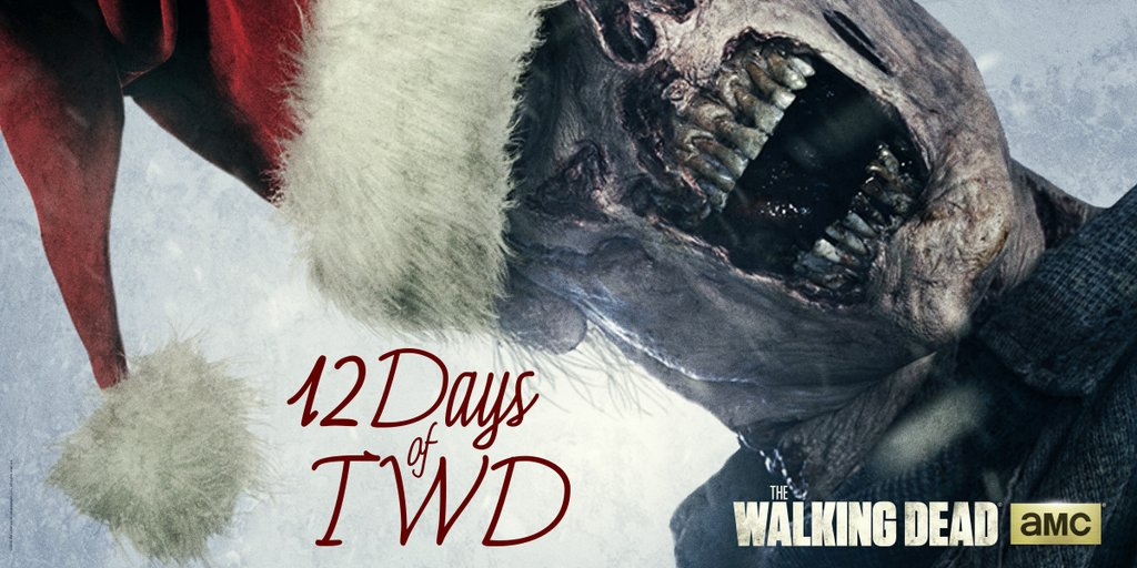The Walking Dead 12 Days of TWD Holiday Sweepstakes