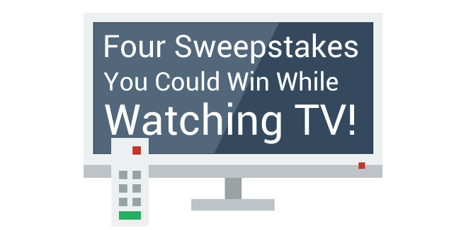 Four Sweepstakes You Could Win While Watching TV (Code Word Needed!)