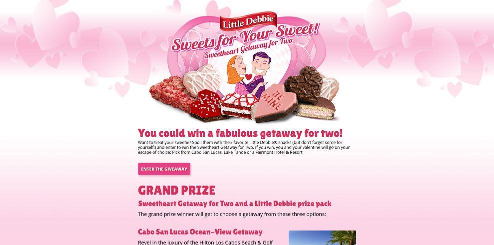 Little Debbie Sweets for Your Sweet Giveaway (LittleDebbieValentine.com)