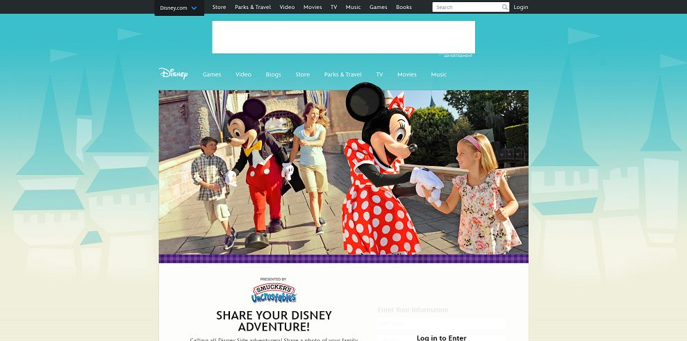 Share Your Disney Adventure Promotion (