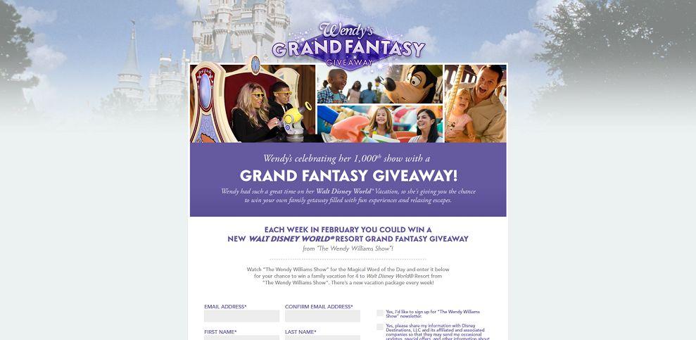 Wendy's Grand Fantasy Giveaway (grandfantasygiveaway.com)