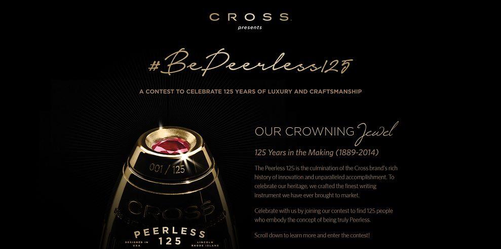 The Peerless 125 Contest