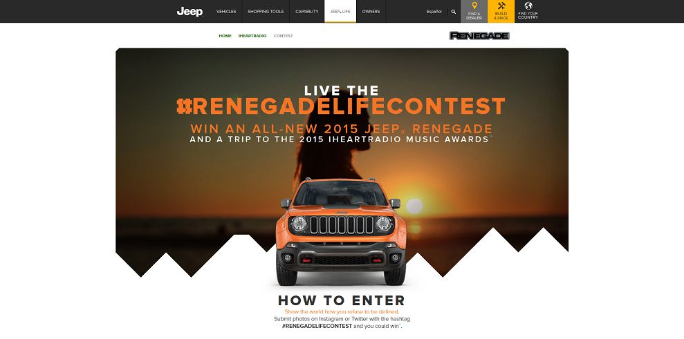 2015 Renegade Life Contest
