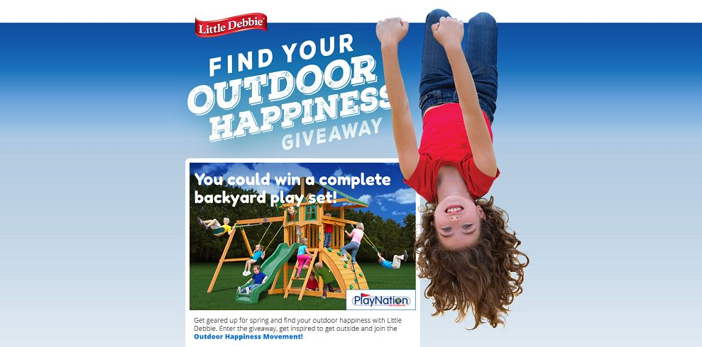 Little Debbie Find Your Outdoor Happiness Giveaway