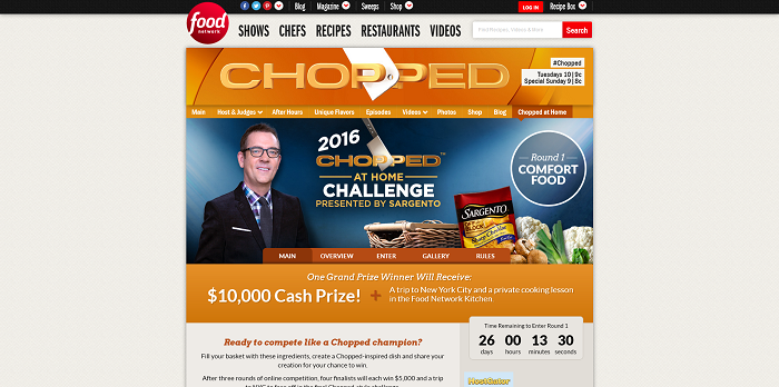 Chopped at Home Challenge - FoodNetwork.com/ChoppedChallenge