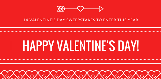 14 Valentine's Day Sweepstakes To Enter This Year