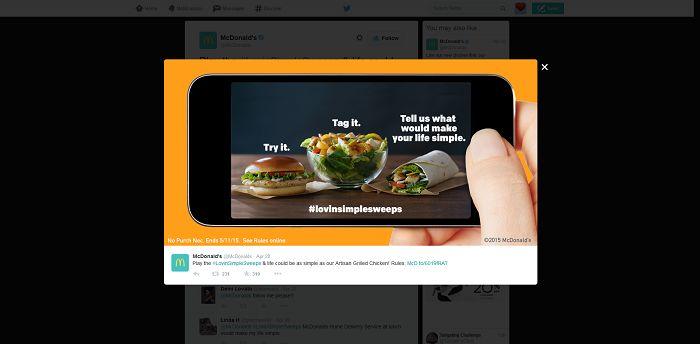 LovinSimpleSweeps.com McDonald's Artisan Grilled Chicken #LovinSimpleSweeps