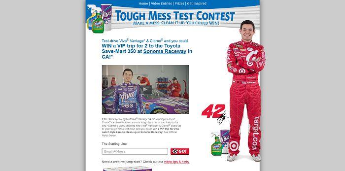 Tough Mess Test Contest