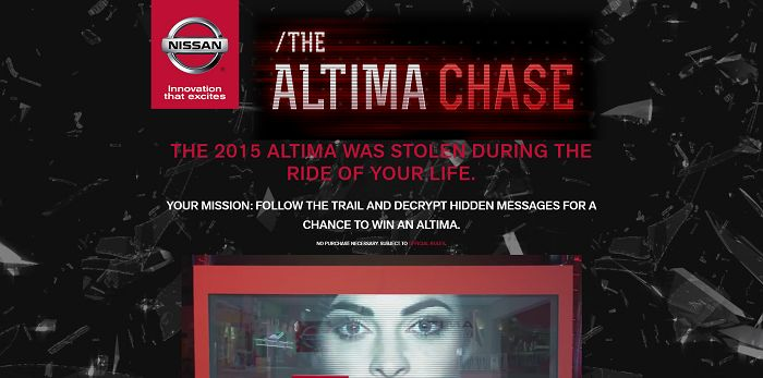 AltimaChase.com - The Altima Chase