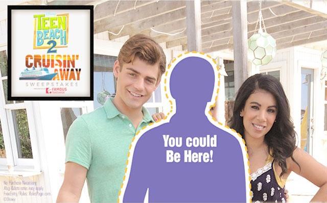 Disney Channel's Teen Beach 2 Cruisin' Away Sweepstakes
