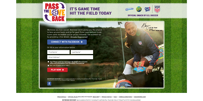 PassTheLove.com - Pass The Love Back Instant Win Game