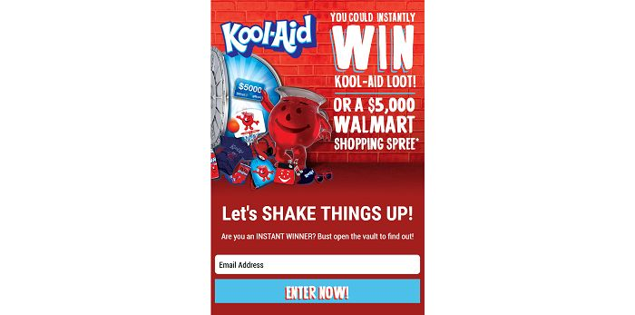 Kool-Aid Prize Vault Promotion