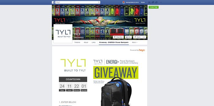 TYLT Giveaway