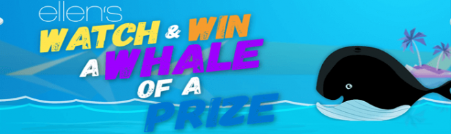 EllenTV.com/MattressFirm - EllenTV Mattress Firm Watch And Win A Whale Of A Prize Contest