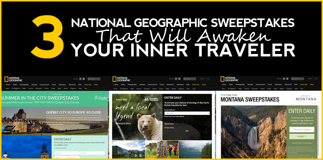 National Geographic Sweepstakes