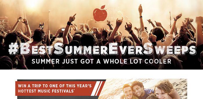 Applebee's Best Summer Ever Sweepstakes (ApplebeesBestSummerEver.com)