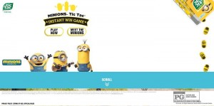 minions at mcdonalds com sweepstakes 5 minions sweepstakes celebrating the minions movie 1552