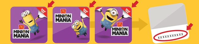 minions at mcdonalds com sweepstakes mcdonald s minion mania online sweepstakes week 2 has 9970