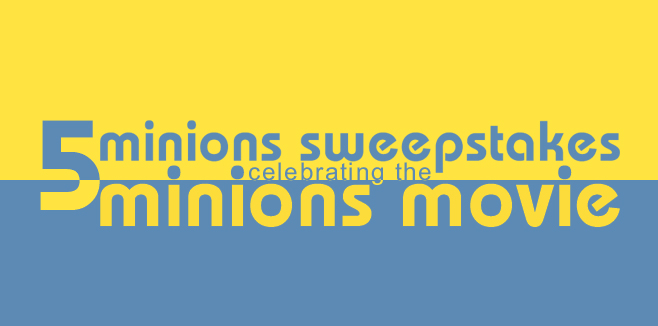 Minions Sweepstakes
