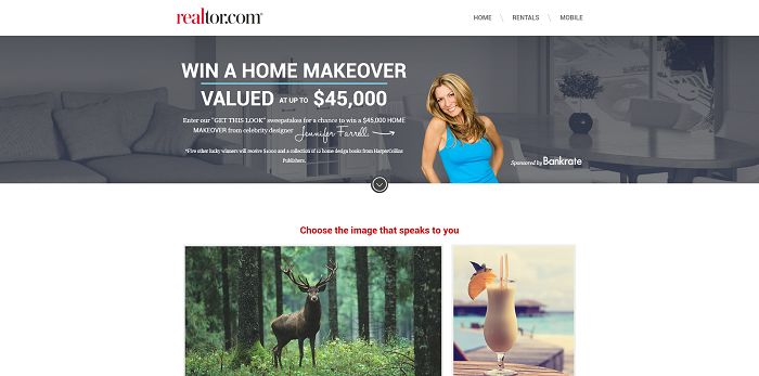 realtor.com Get This Look Sweepstakes