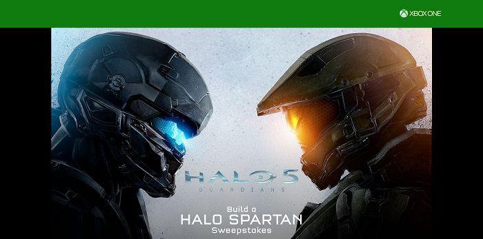 Build A Halo Spartan Sweepstakes (BuildAHaloSpartan.com)