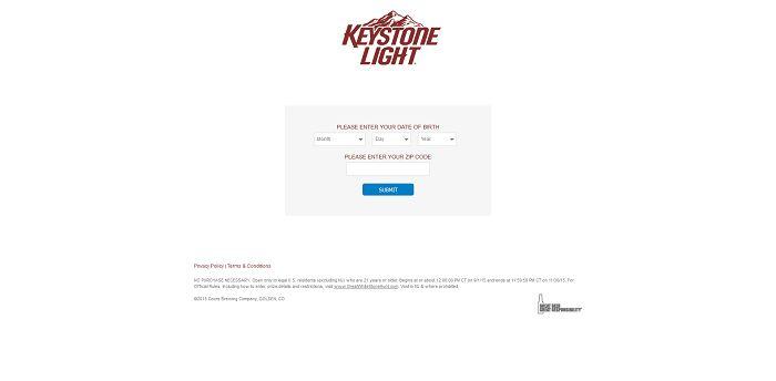 GreatWhiteStoneHunt.com - Keystone Light Hunt For The Great White Stone Promotion