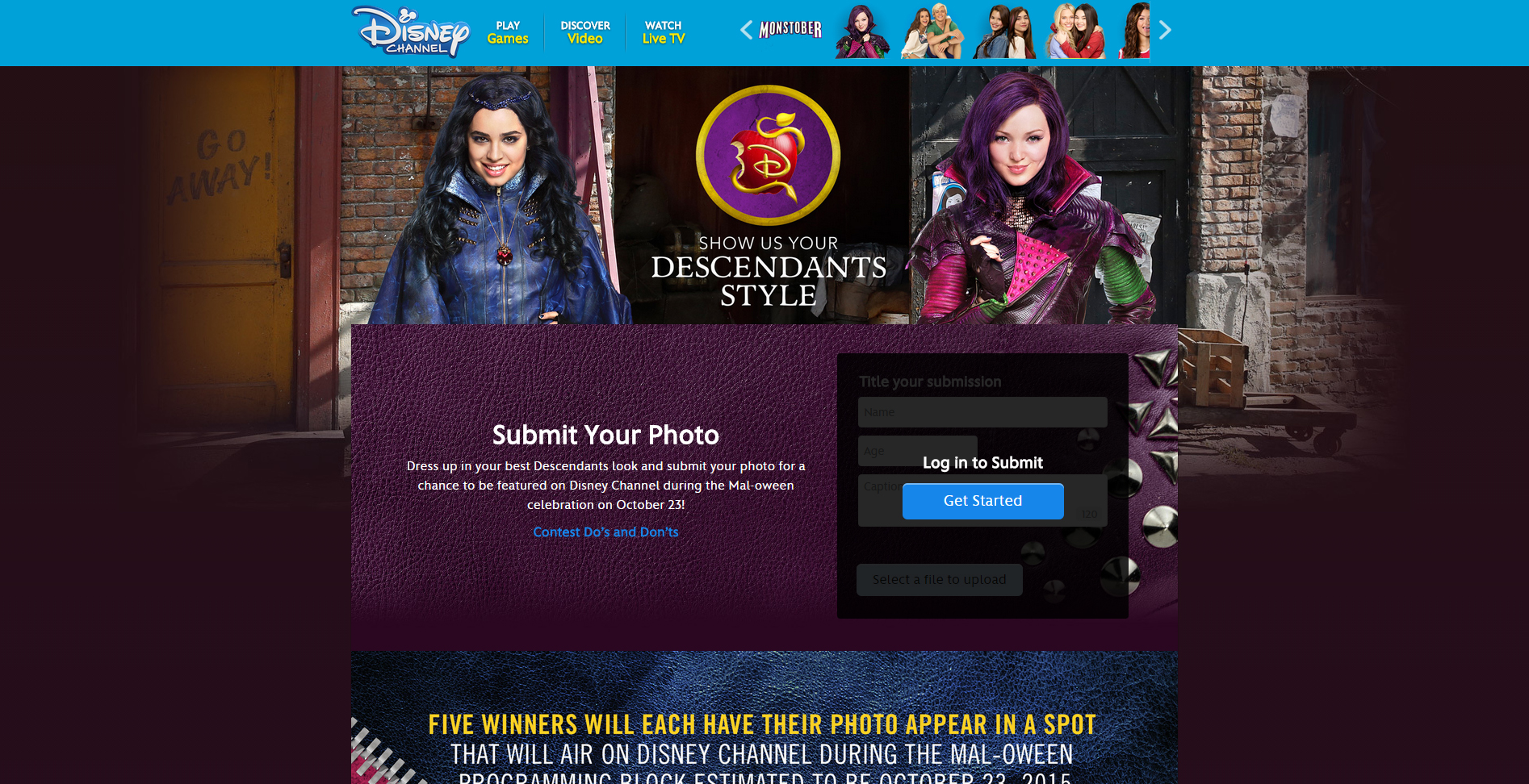 Disney Channel Show Us Your Descendants Style Contest