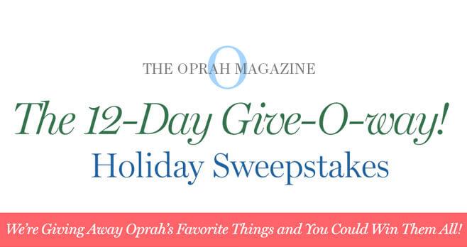 Oprah 12 Days Of Christmas.Oprah 12 Days Of Christmas Giveaway 2018 Sweepstakes