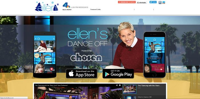 Ellen's Dance-Off Contest