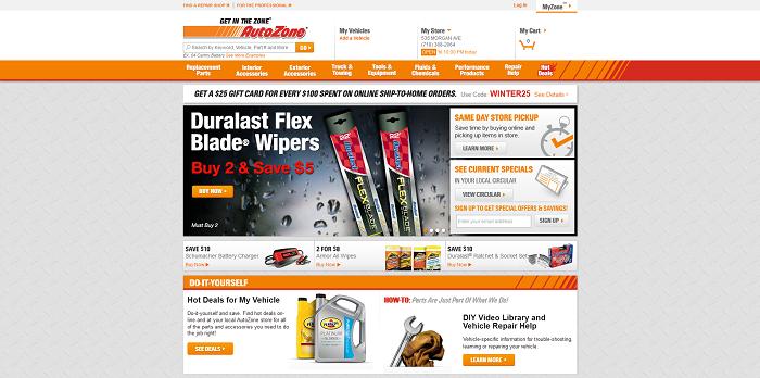 AutoZoneCares.com - AutoZone Customer Satisfaction Survey Sweepstakes