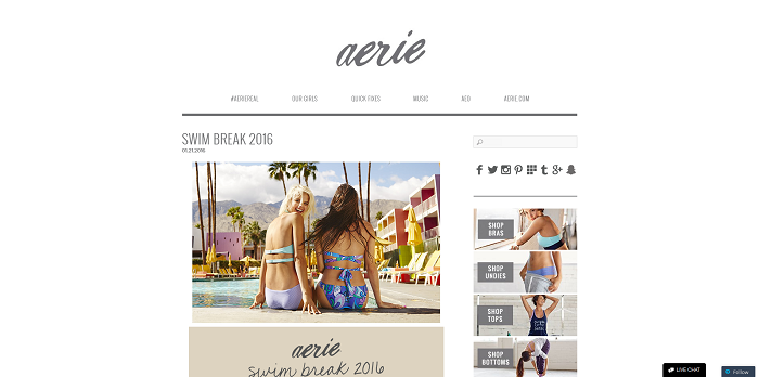Aerie.com/SwimBreak2016 - Aerie Swim Break 2016 Sweepstakes