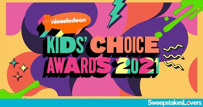 Nick Kids' Choice Awards Sweepstakes 2021