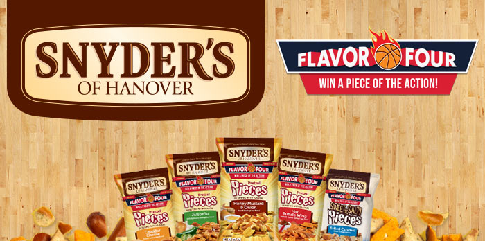 SnydersFlavorFour.com: Snyder's of Hanover Pretzel Pieces Flavor Four Instant Win Game