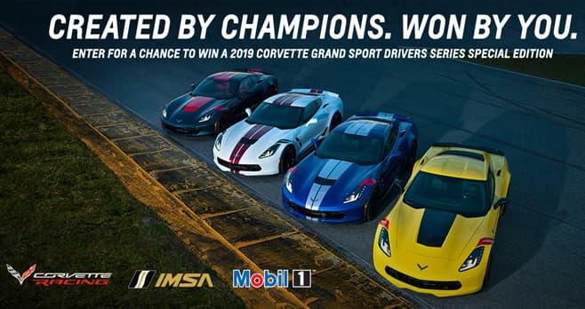Race to Win Corvette Sweepstakes (RaceToWinCorvette.com)