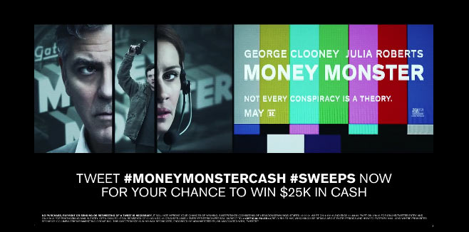Money Monster Madness Sweepstakes