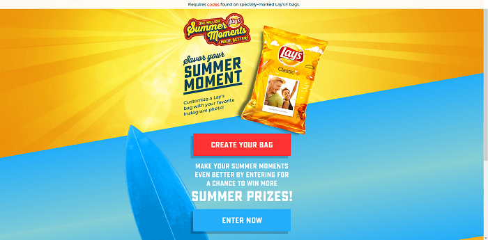 Lays.com Summer Days Game 2016