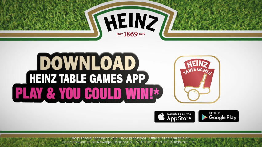 HeinzTableGames.com/Sweeps - Heinz Table Games Sweepstakes