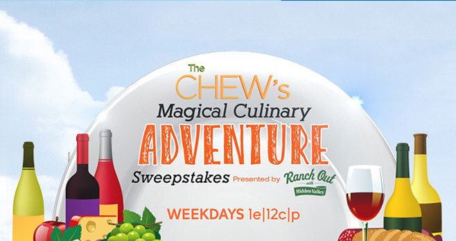 The Chew's Magical Culinary Adventure Sweepstakes 2017