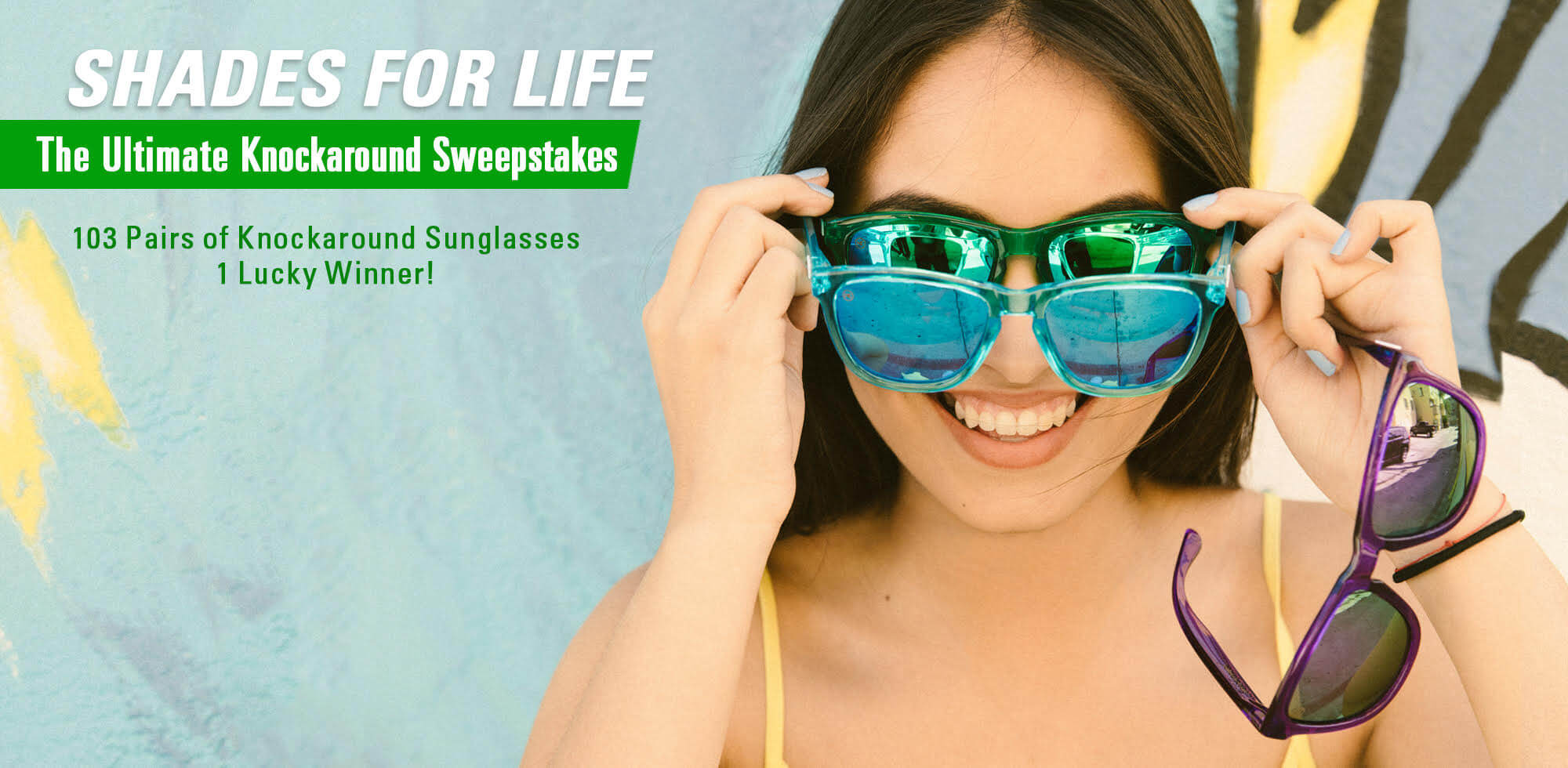 Knockaround Shades For Life Sweepstakes