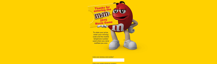 Movie.MMS.com - M&M'S Movie Game 2016