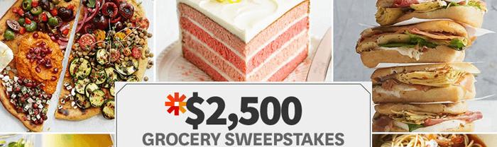 BHG.com/2500Sweeps - BHG $2,500 Grocery Sweepstakes