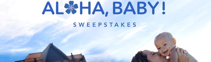 Disney.com/AlohaBaby - Disney Aloha Baby Sweepstakes