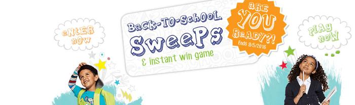 Bonton.com/BTSSweeps - Bon Ton Back-To-School Sweeps 2016